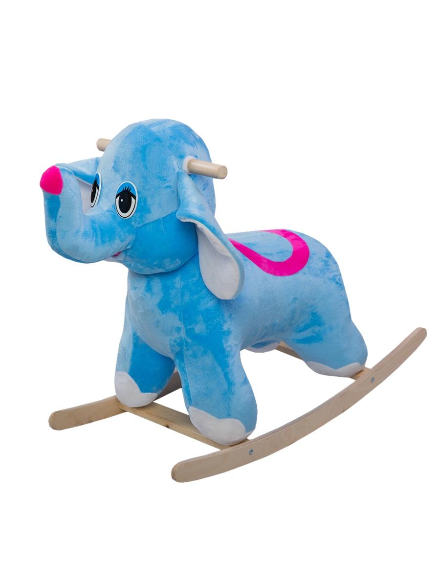 Качалка ToysGo.ru Слоник голубой
