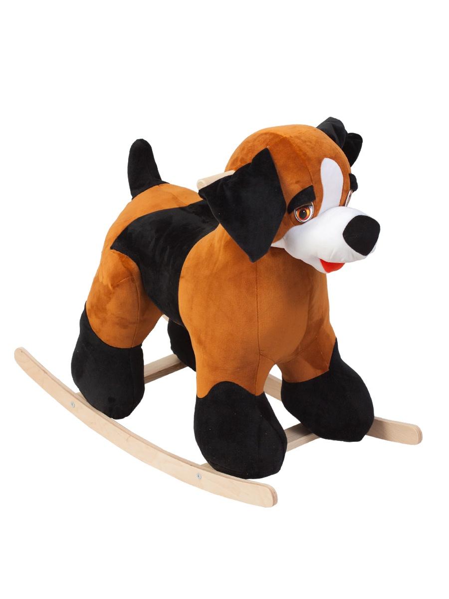 Качалка ToysGo.ru Собачка коричневый