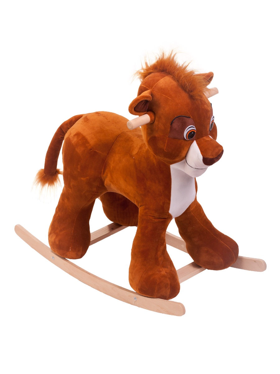 Качалка ToysGo.ru Лев коричневый