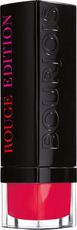 "Bourjois Помада для губ ""Rouge Edition"", тон №11 (Fraise Remix), 3,5 г"