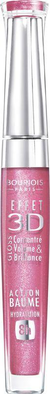 Bourjois Блеск для губ Effet 3D, тон №20 (Rose Symphonic), 5,7 мл блеск для губ тон 02 bourjois