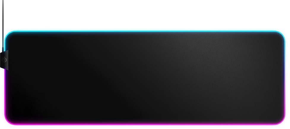 лучшая цена Игровой коврик для мыши SteelSeries QcK Prism Cloth XL, 63826, черный