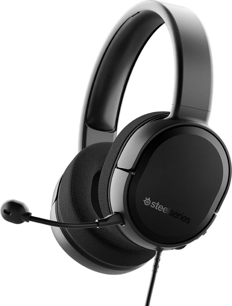 Игровые наушники SteelSeries Arctis RAW, 61496, черный наушники с микрофоном steelseries arctis 5