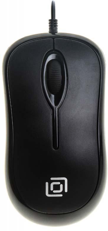 Мышь проводная Oklick, 285M, черный лей бай rapoo v210 игровая мышь игры мышь проводная мышь мышь для ноутбука индиго miss адаптированная версия