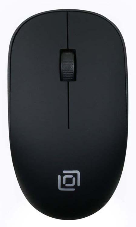 Мышь беспроводная Oklick, 515MW, черный