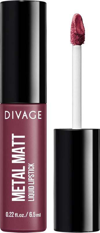 Губная помада Divage Liquid Lipstick Metal Mat №03, 15 г помада жидкая с эффектом металлик bell liquid metal lipstick тон 03