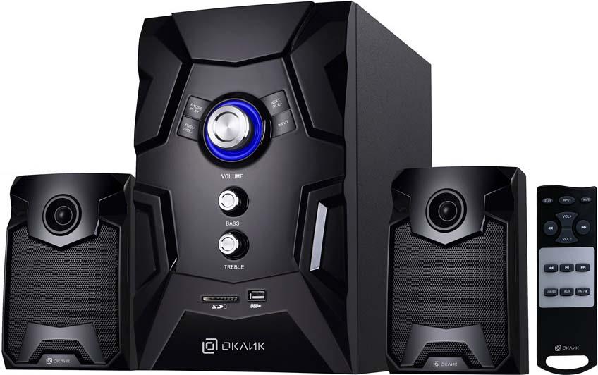 Компьютерная акустическая система Oklick OK-441, черный цена в Москве и Питере