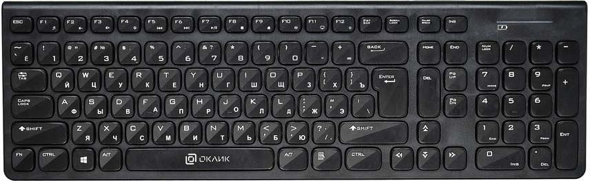 Клавиатура Oklick 880S, черный ассоль xpb50 880s