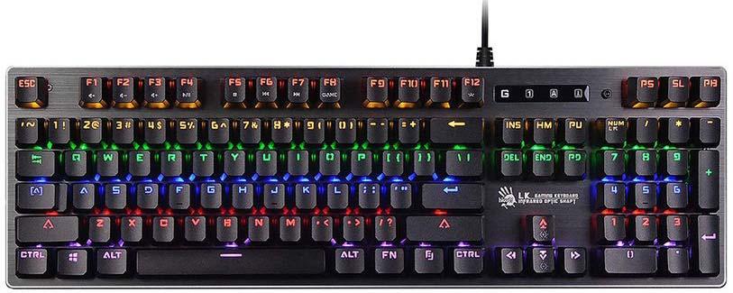 Игровая клавиатура A4Tech Bloody B760, черный цена