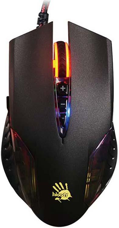 лучшая цена Игровая мышь A4Tech Bloody Q50, черный