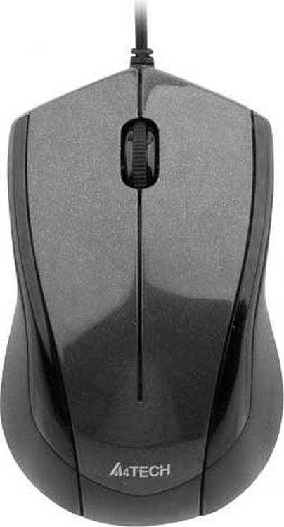 Мышь A4Tech V-Track Padless N-400-1, черный все цены