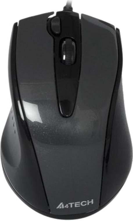 Мышь A4Tech V-Track Padless N-500F, черный все цены