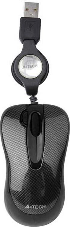 лучшая цена Мышь A4Tech V-Track Padless N-60F, черный