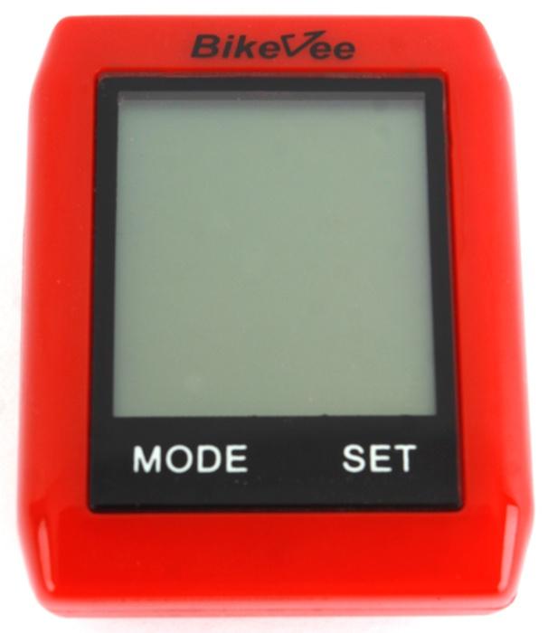 Велокомпьютер BikeVee BKV- 6000, 1CM000000021, красный
