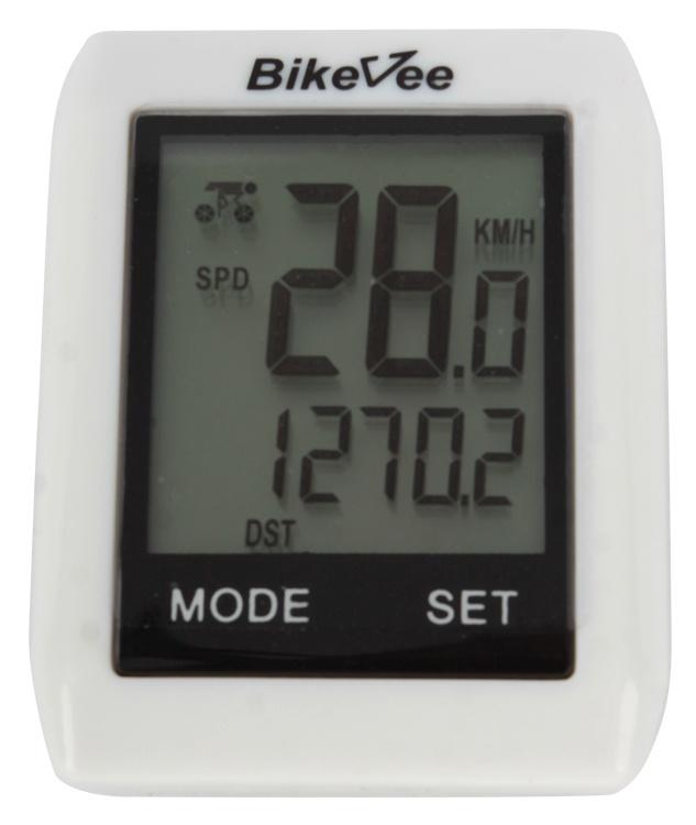 Велокомпьютер BikeVee BKV- 6000, 1CM000000022, белый