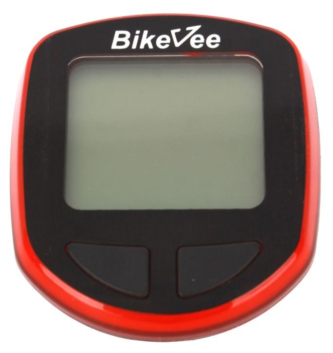 Велокомпьютер BikeVee BKV-1000, 1CM000000029, красный
