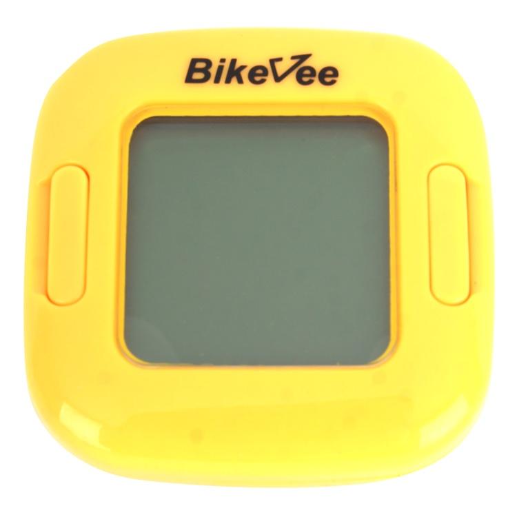 Велокомпьютер BikeVee BKV-2000, 1CM000000036, желтый