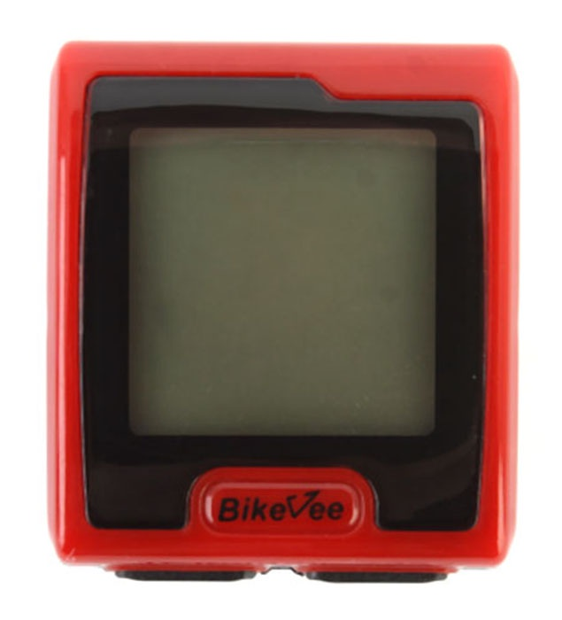 Велокомпьютер BikeVee BKV-7000, 1CM000000023, красный