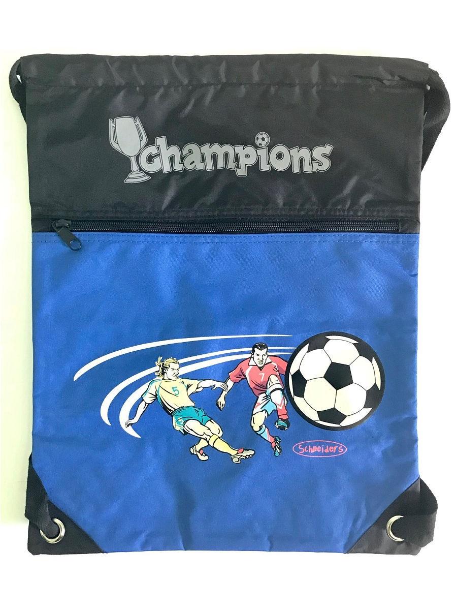 Мешок для сменной обуви Schneiders Champions, 49245-070, синий globo 49245