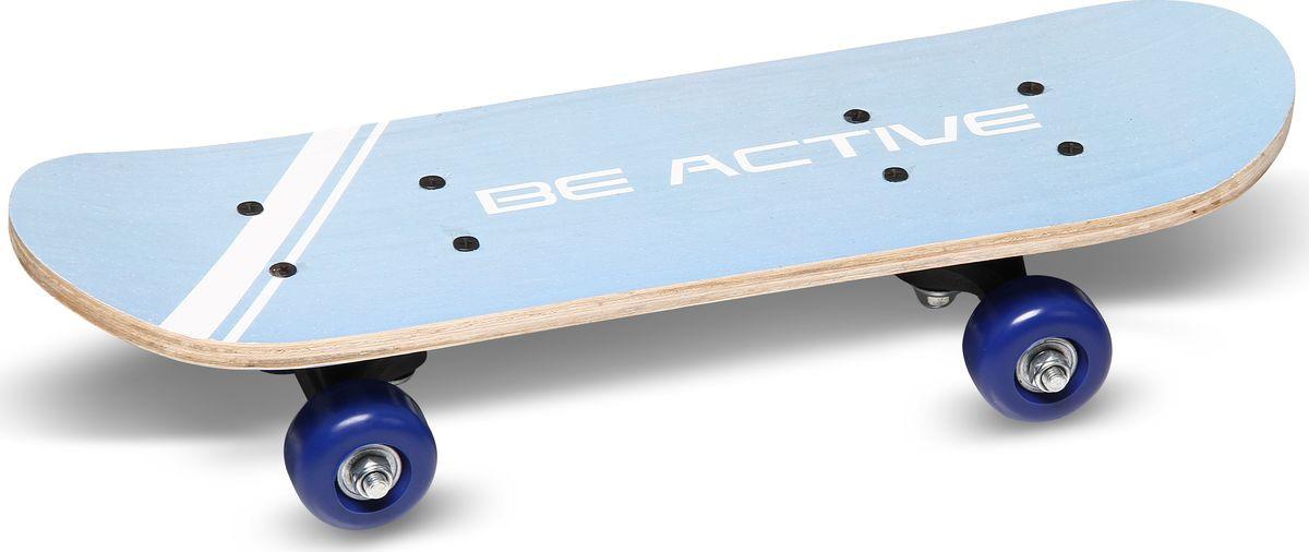 Скейтборд Joerex Mini JSK-28305, голубой