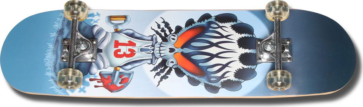 Скейтборд Senhai SHN-85, синий