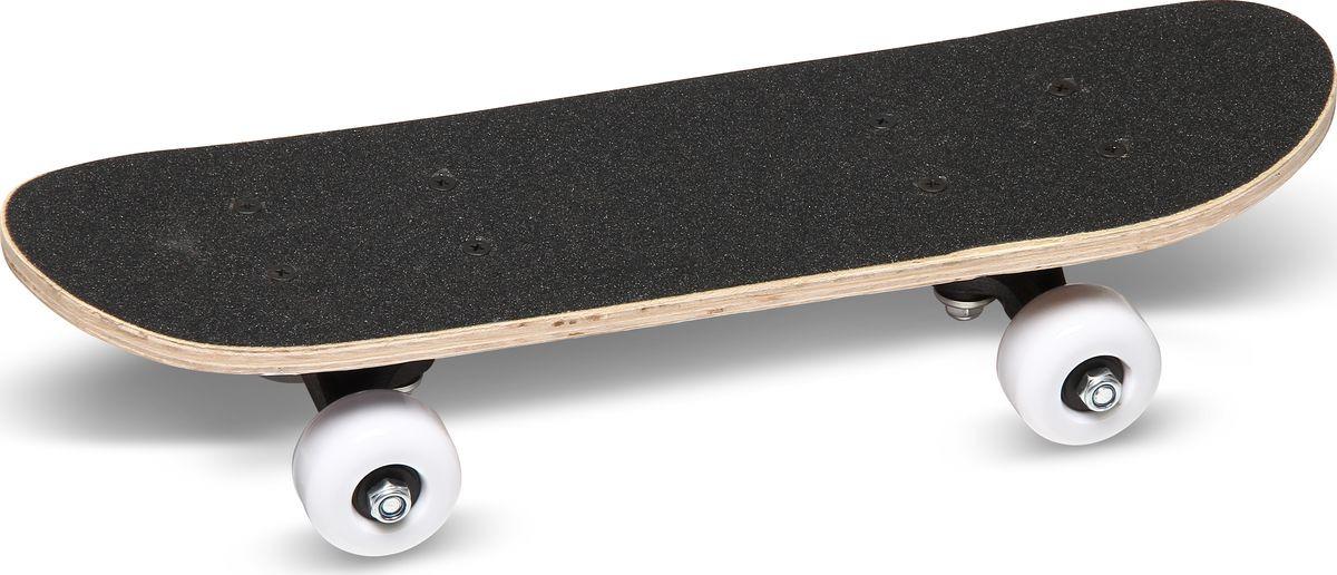 Скейтборд Wide Land Mini 5030 GS-SB-1002, черный скейтборд sb 2201