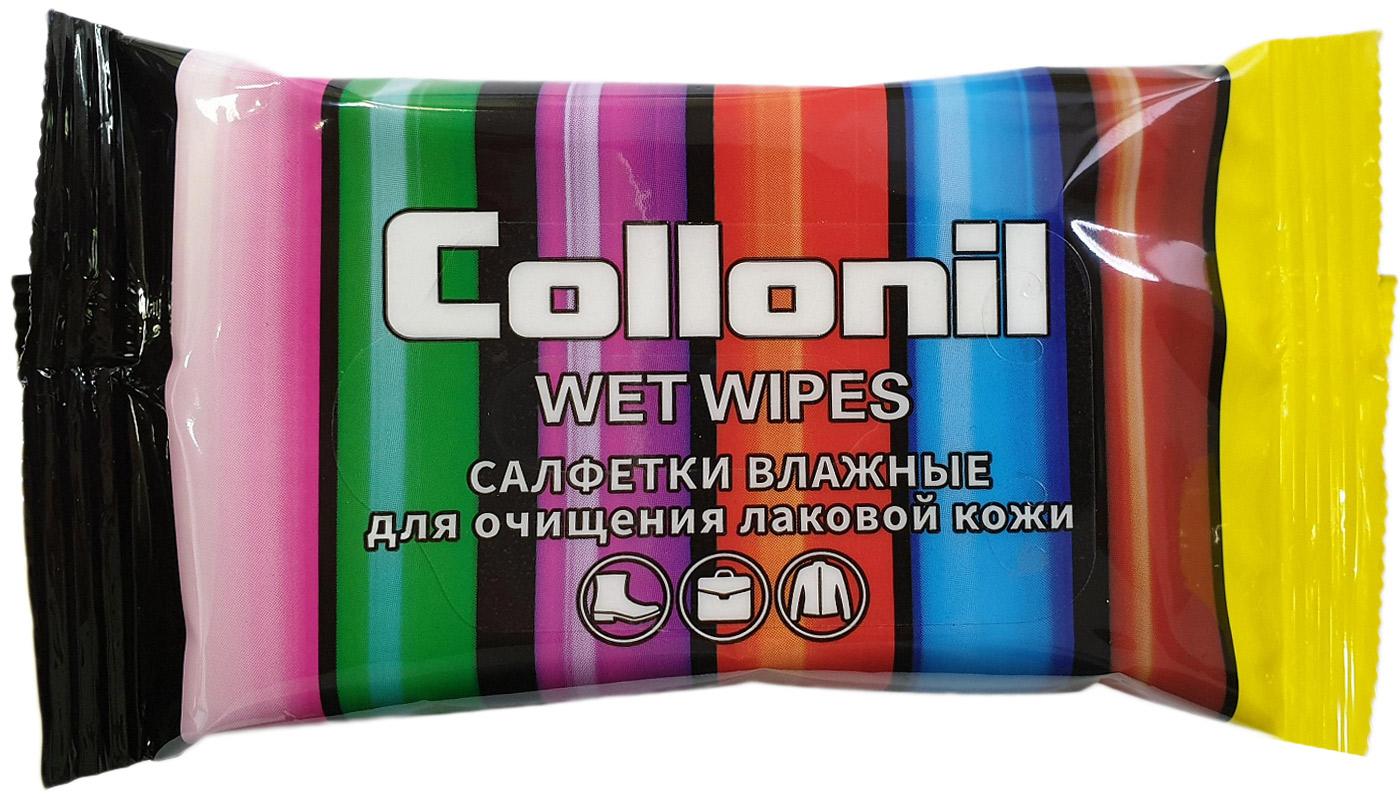 цены на Салфетки влажные Collonil, для очищения лаковой кожи, 15 шт  в интернет-магазинах