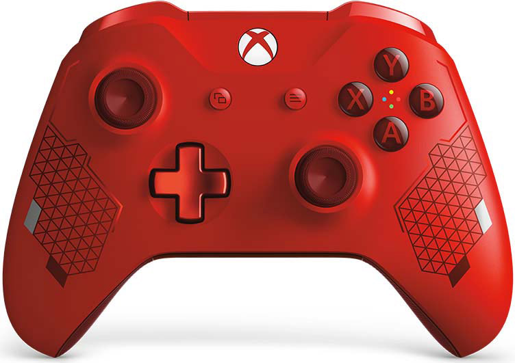Геймпад Microsoft Sport Red беспроводной для Xbox One геймпад беспроводной microsoft controller for xbox one [wl3 00090] [xbox one] combat tech