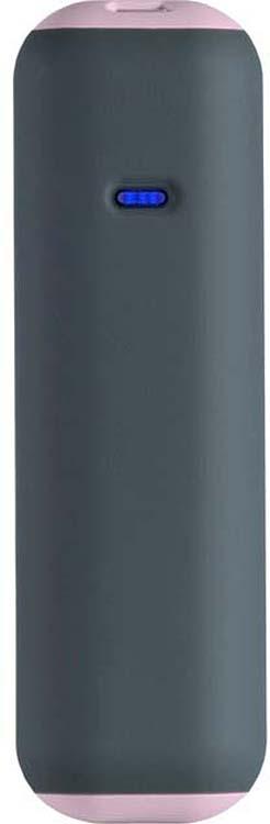 Внешний аккумулятор SmartBuy Utashi A 2500, SBPB-730, серый, розовый внешний аккумулятор smartbuy utashi x 5000 sbpb 505 черный
