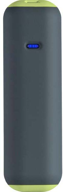 Внешний аккумулятор SmartBuy Utashi A 2500, SBPB-710, серый, салатовый внешний аккумулятор smartbuy utashi x 5000 sbpb 505 черный