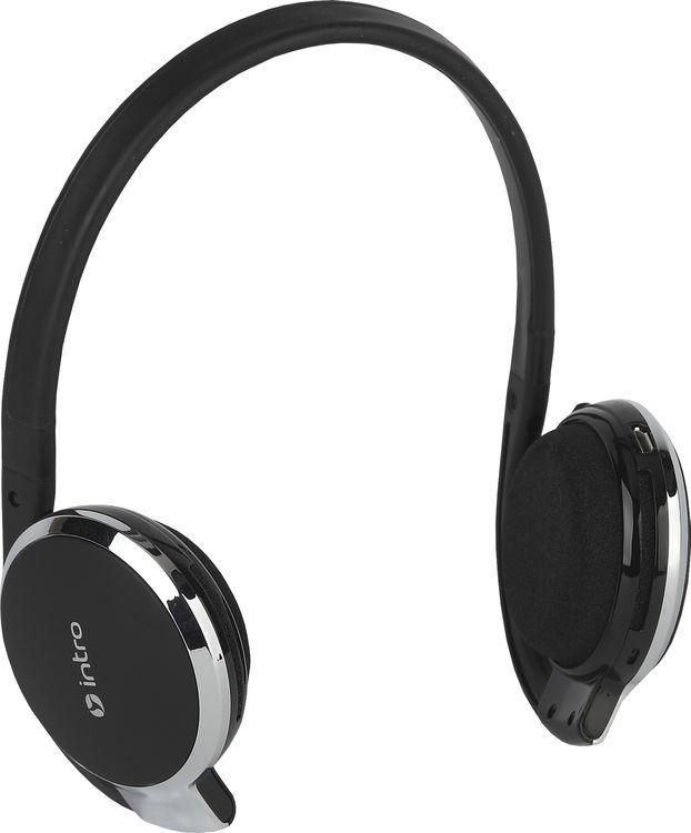 Беспроводные наушники Intro Wireless Bluetooth HSW510, черный цена 2017
