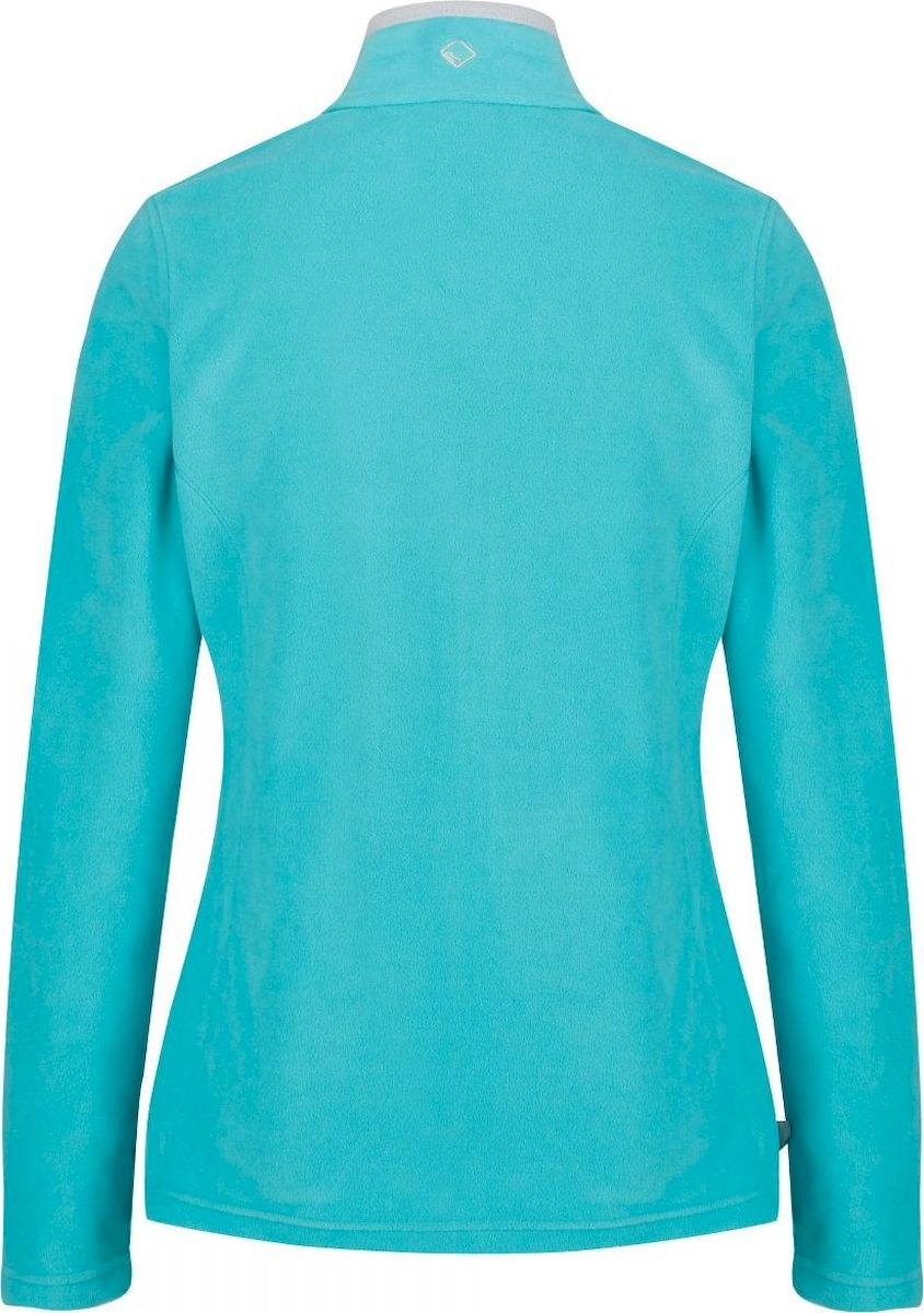 Толстовка женская Regatta Clemance II, цвет: бирюзовый. RWA182-770. Размер 8 (40) Regatta