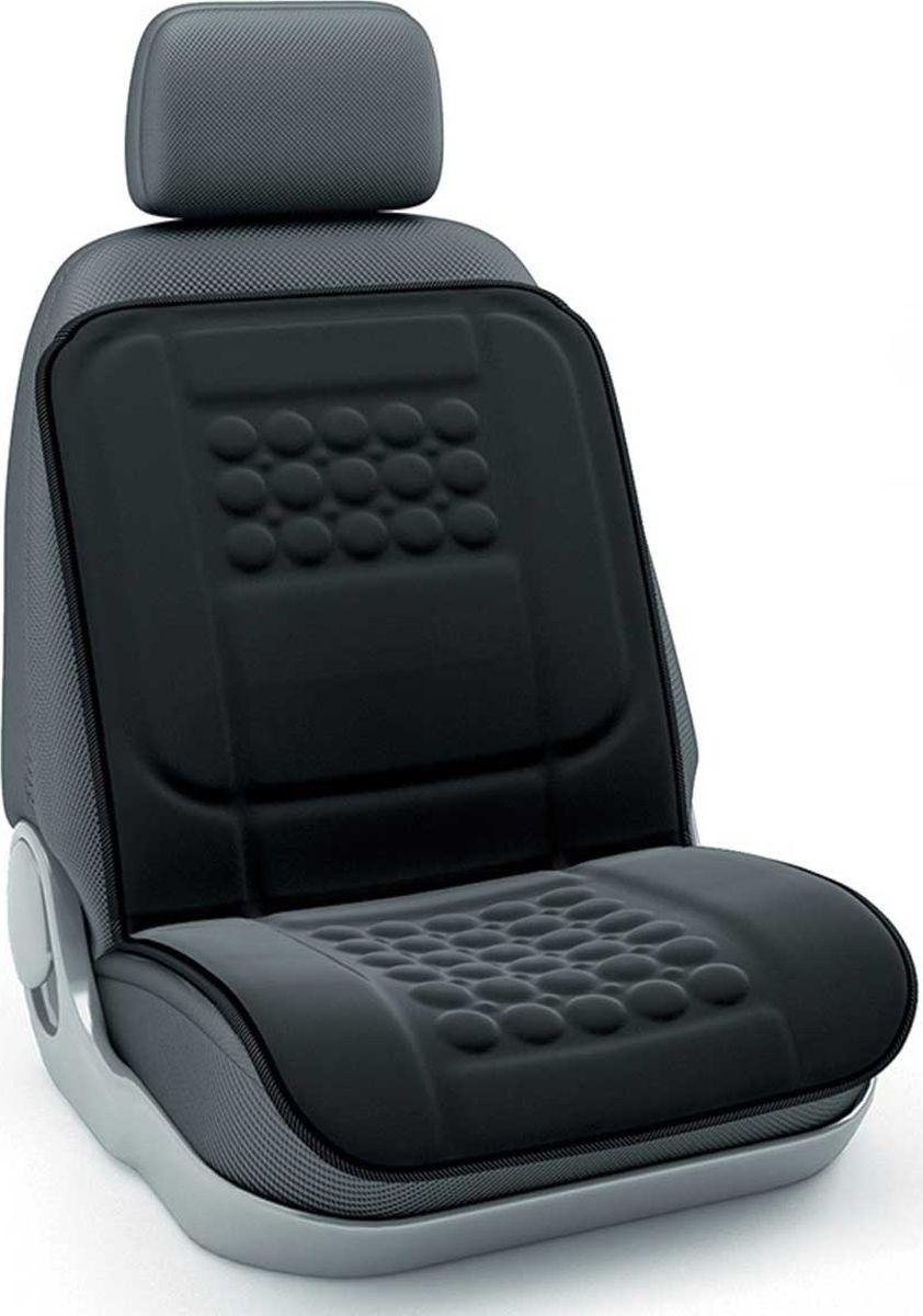 Накидка на сиденье Nova Bright с массажером, черный накидка на сиденье nova bright 120х43см