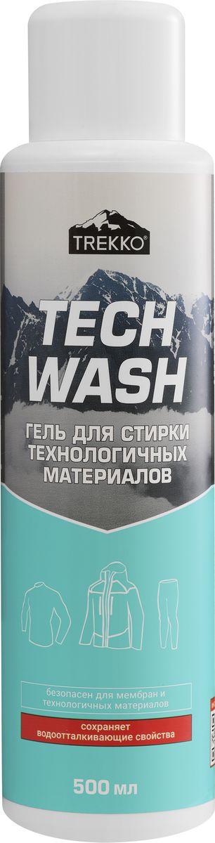 Гипоаллергенный гель для стирки мембранных, технологичных и деликатных материалов Trekko Tech Wash 500 мл