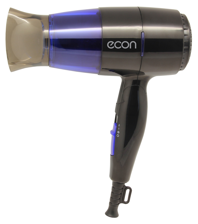 Фен для волос ECON ECO-BH164D, черный