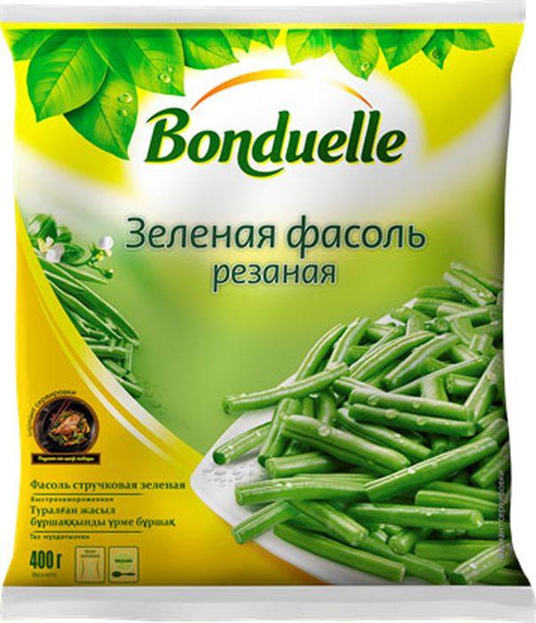 Фасоль замороженная Bonduelle Зеленая стручковая, резаная, 405 г Bonduelle