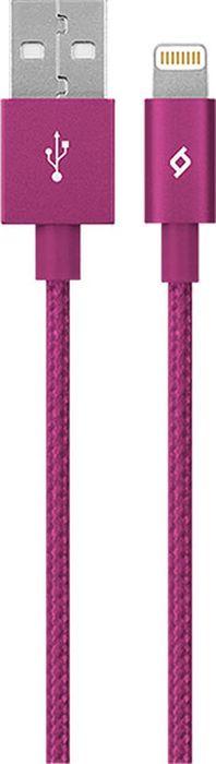 Дата-кабель TTEC Alumi 8 Pin MFI, 2DKM02P, розовый