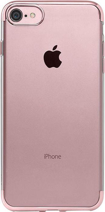 Чехол TTEC ChromeClear для Apple iPhone 7, 2PNS65RA, черный в контрольной мудрости zkteco f7 plus контроль доступа к отпечаткам пальцев на одной машине