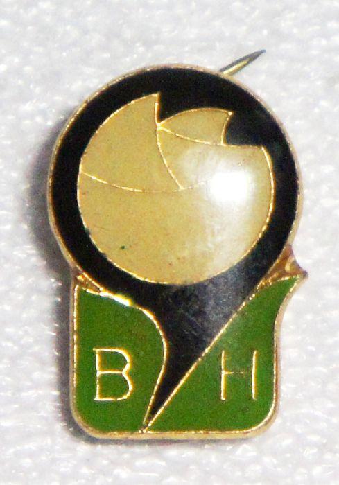 Значок ВН, Эмблема, металл, эмаль, СССР, 1970-е гг цена