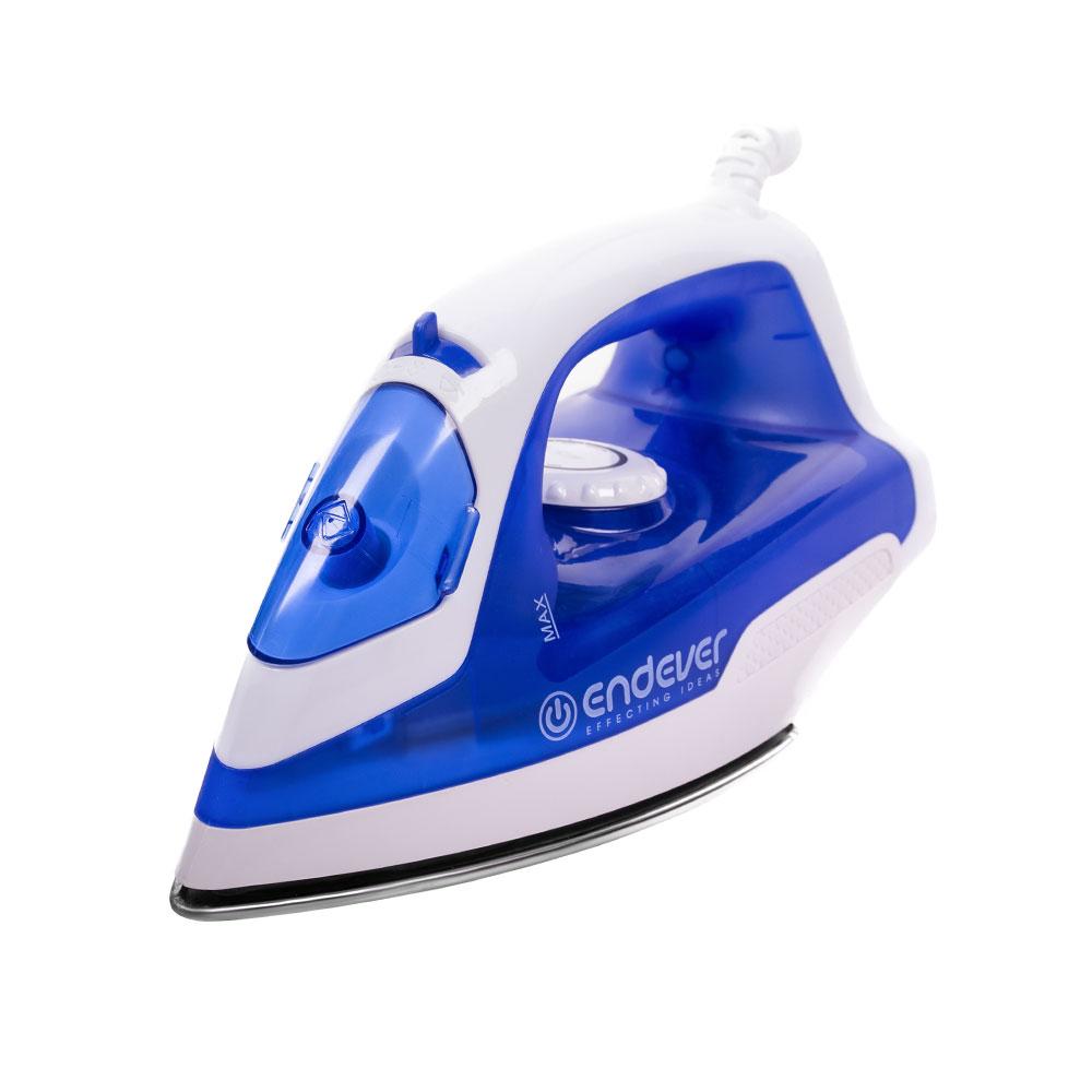 Утюг Endever SkySteam-712, синий, белый