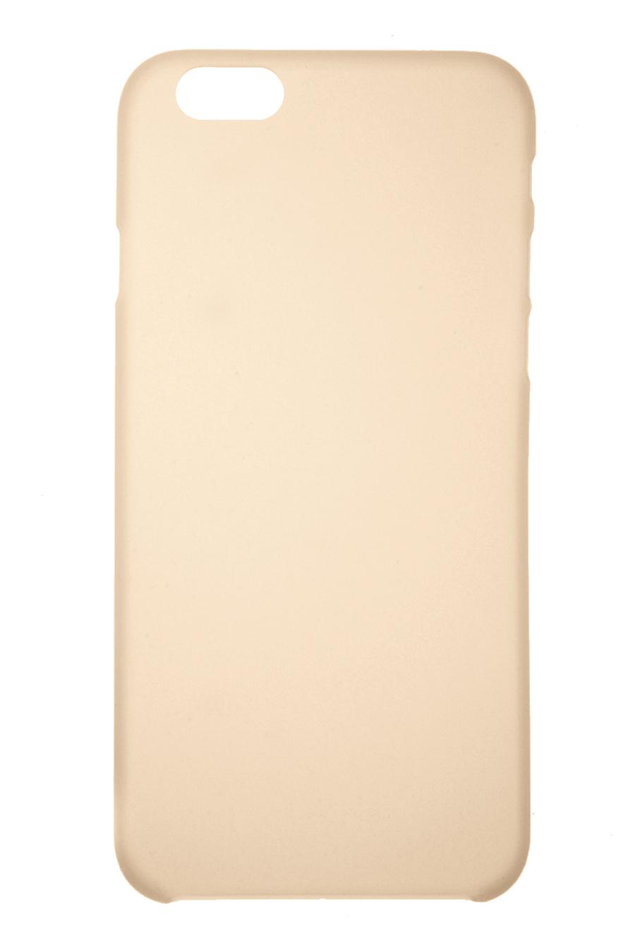 Чехол для сотового телефона IQ Format iPhone 6 сверхтонкая, 2000397083325, золотой аксессуар чехол крышка iq format для iphone 7 green