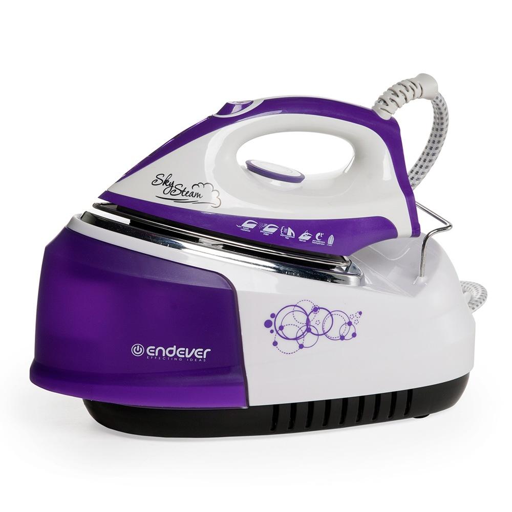 Парогенератор Endever SkySteam-734, фиолетовый, белый