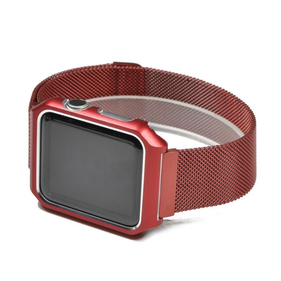 Ремешок для смарт-часов Markclub@Hoco Металлический ремешок, красный беспроводная колонка markclub hoco tg 168 красный