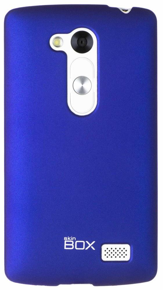 Чехол для сотового телефона skinBOX 4People, 4630042526662, синий стоимость