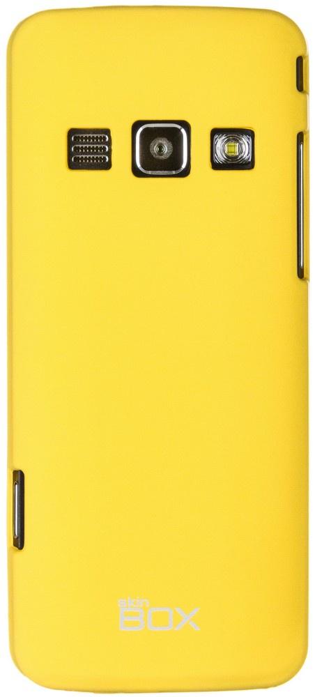 Чехол для сотового телефона skinBOX 4People, 4630042526747, желтый стоимость
