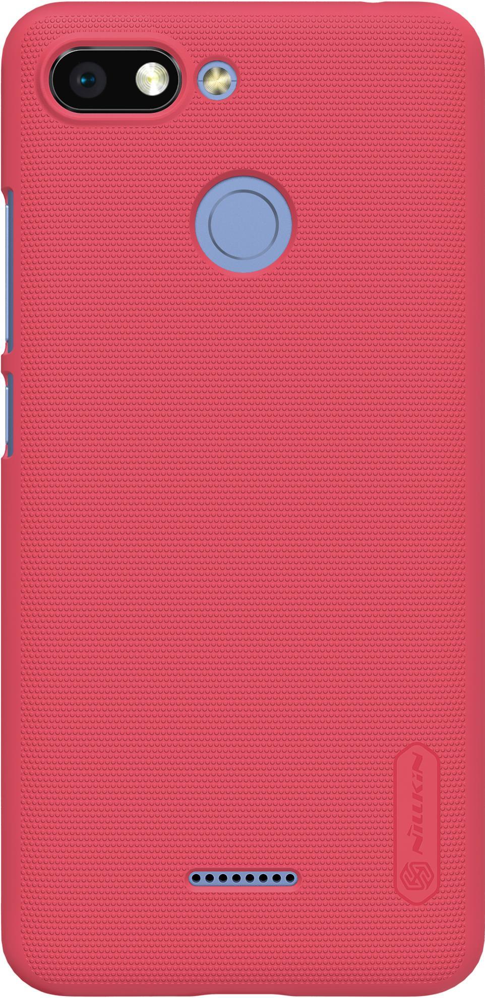 Чехол для сотового телефона Nillkin Super Frosted, 6902048160491, красный клип кейс nillkin super frosted shield для lg g4 stylus красный