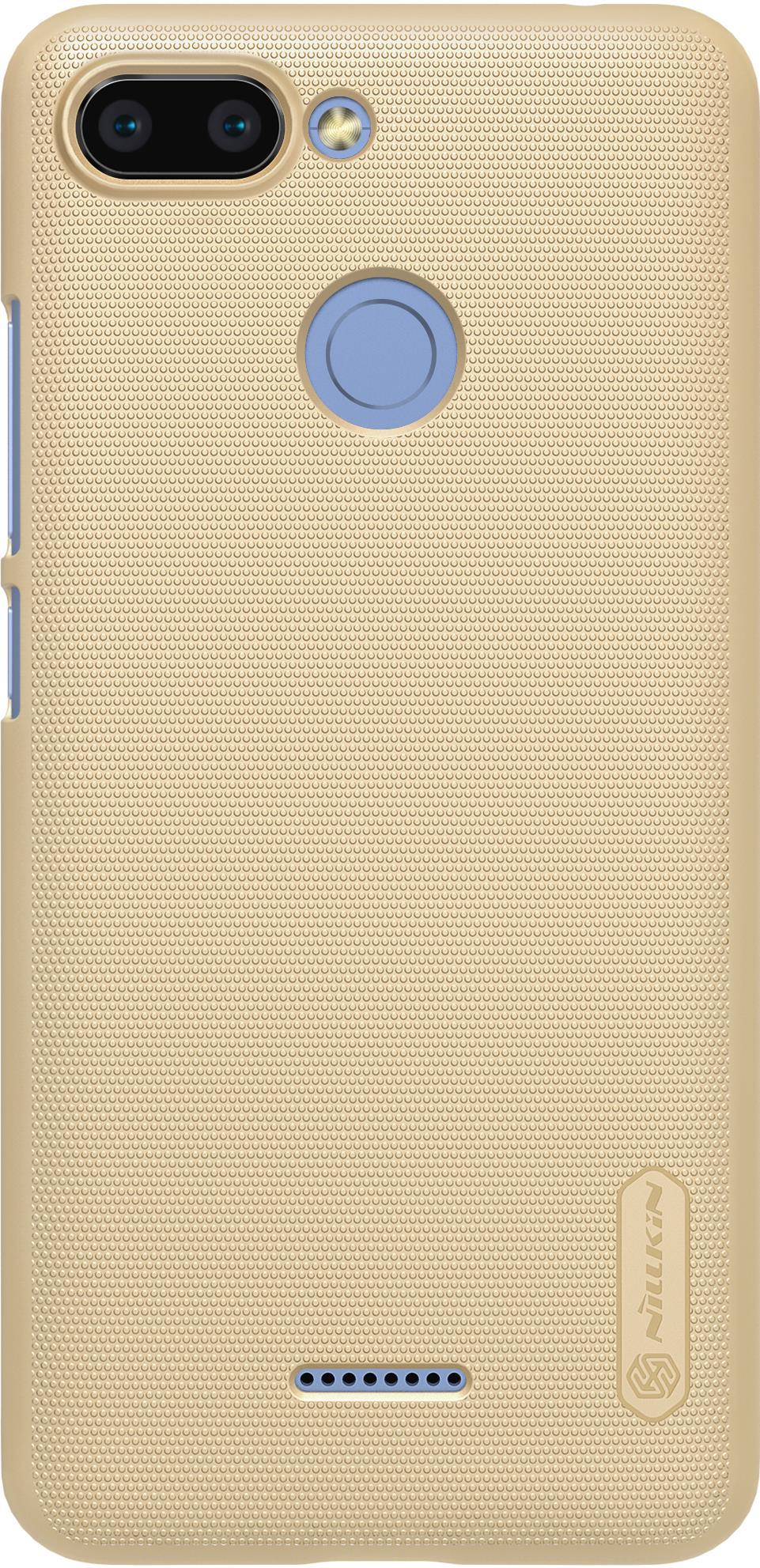 Чехол для сотового телефона Nillkin Super Frosted, 6902048160507, золотой