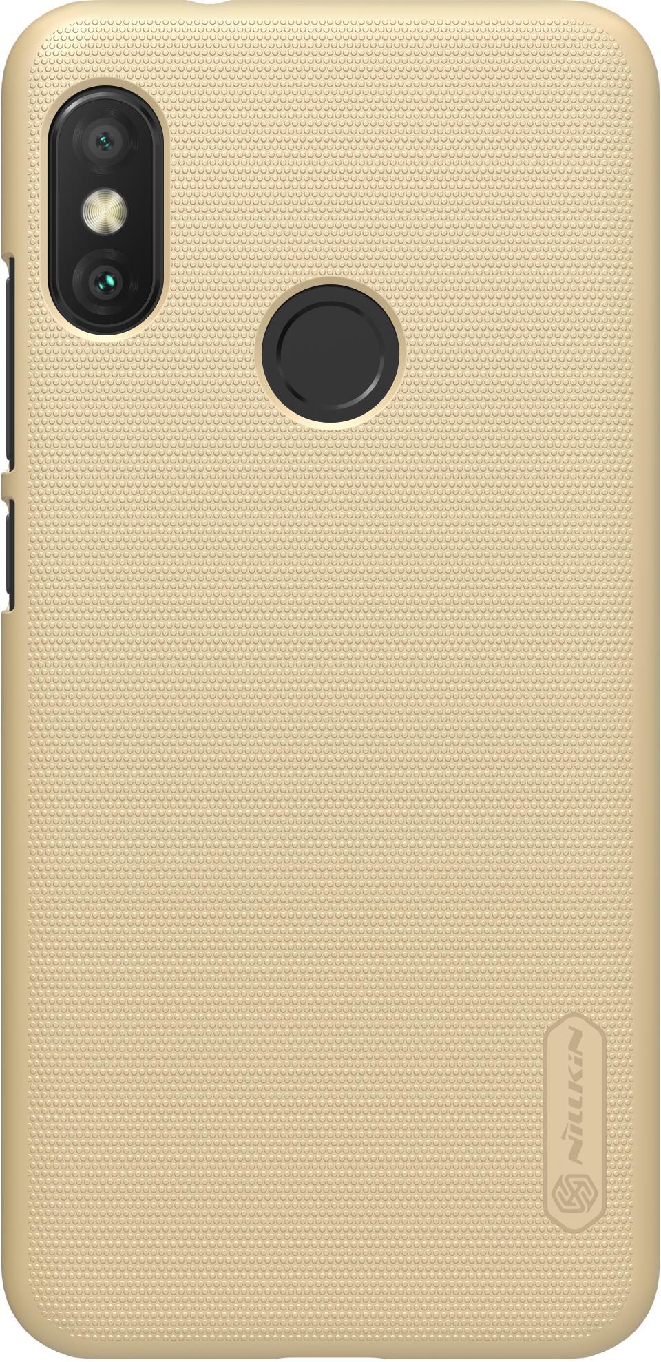 Чехол для сотового телефона Nillkin Super Frosted, 6902048161085, золотой