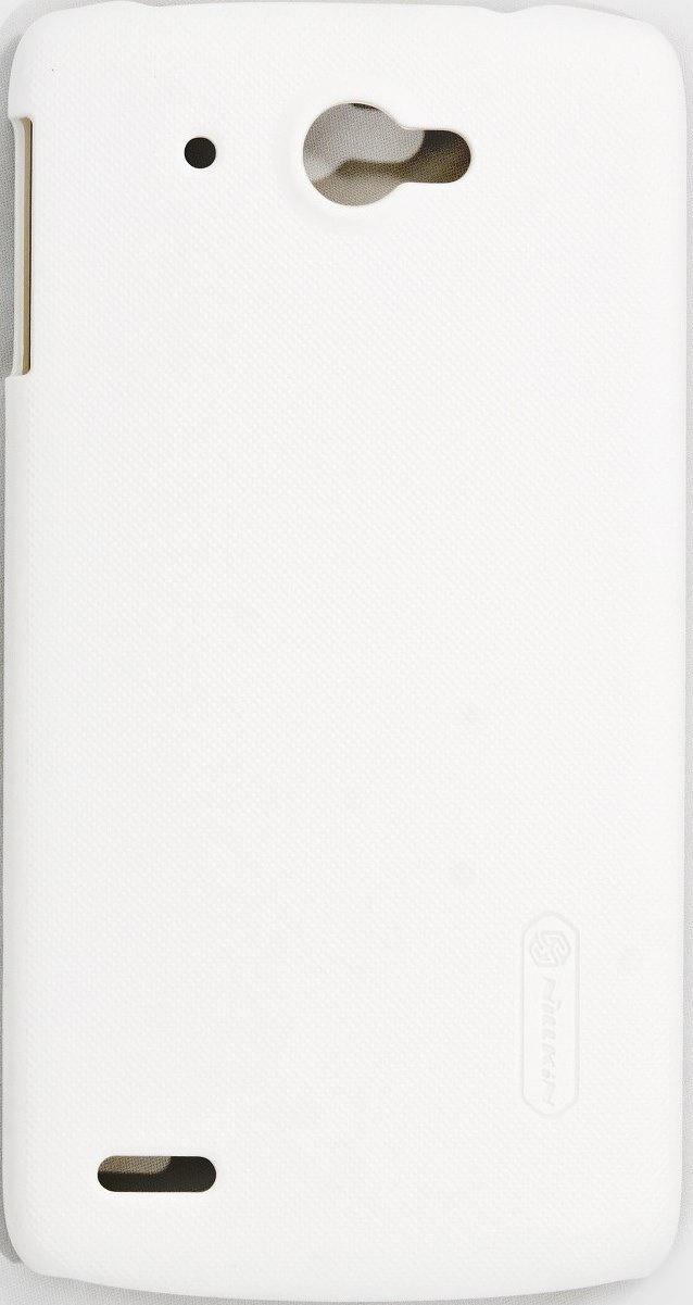 Чехол для сотового телефона Nillkin Super Frosted, 6956473220053, белый чехол для lenovo ideaphone k910 vibe z ibox premium black