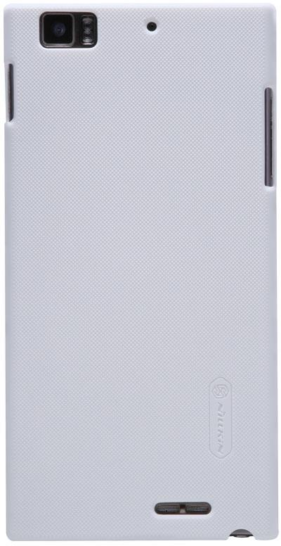 Чехол для сотового телефона Nillkin Super Frosted, 6956473252962, белый чехол для lenovo ideaphone k910 vibe z ibox premium black